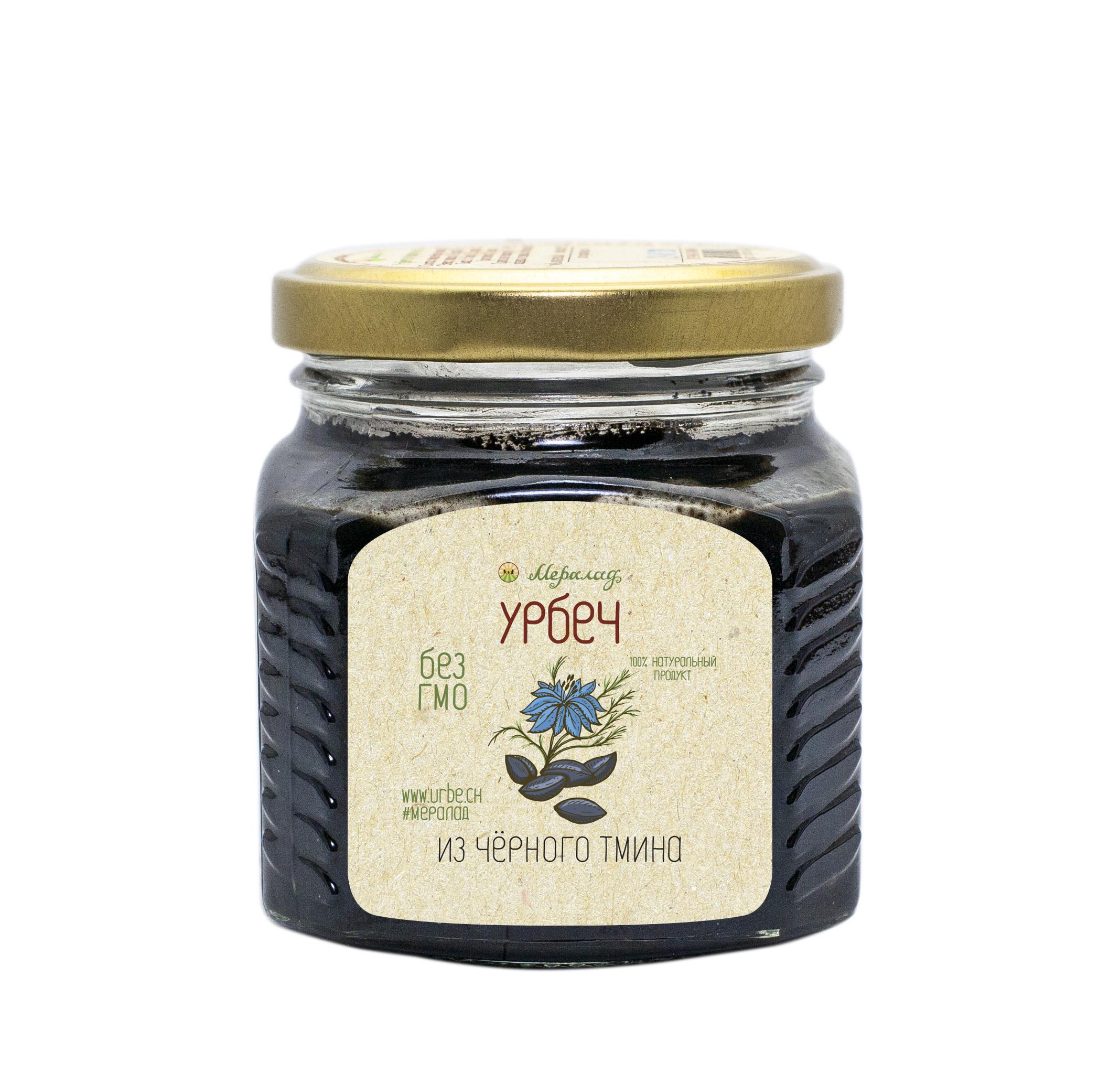 Урбеч из черного тмина 230 гр