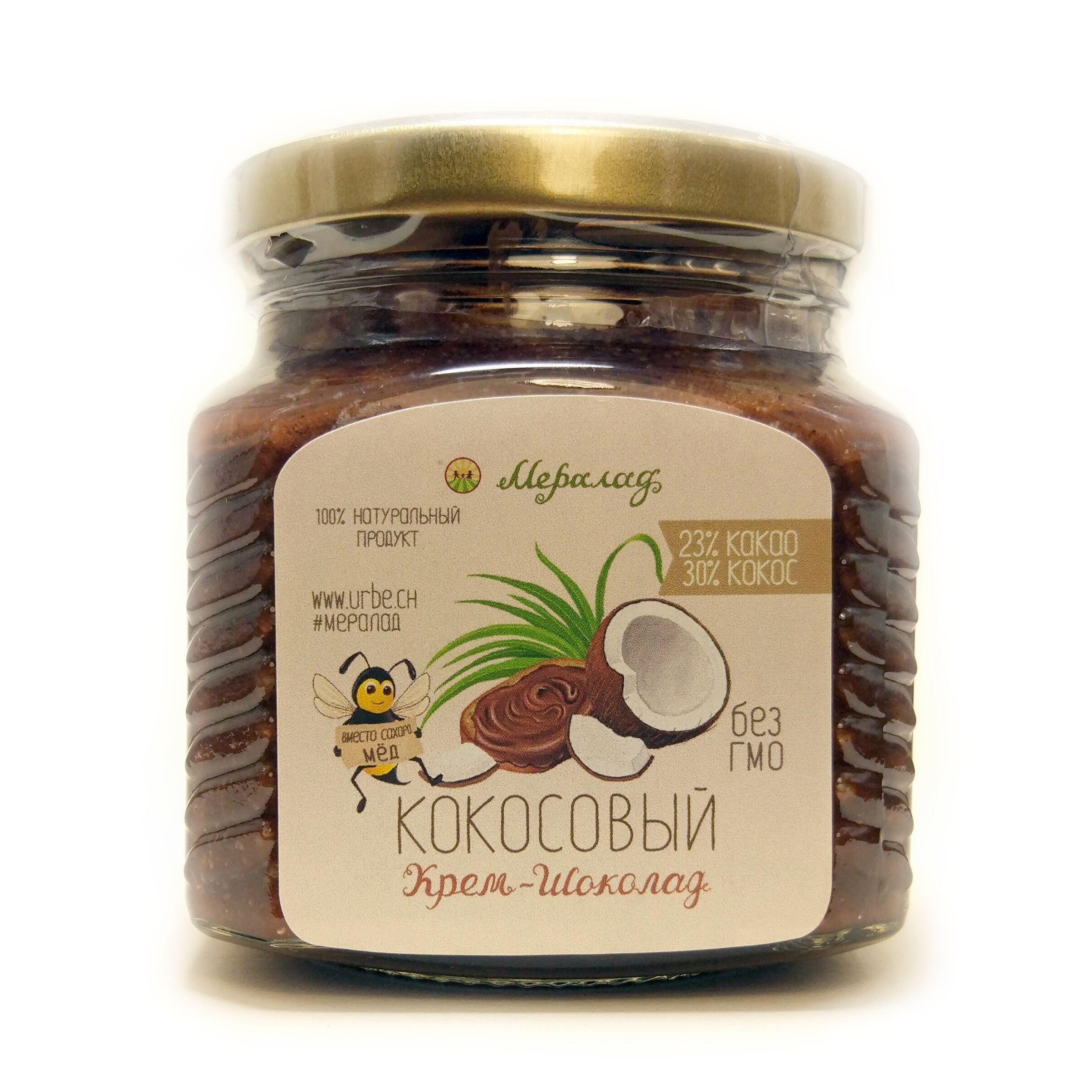 Урбеч Кокосовый крем-шоколад 230 гр